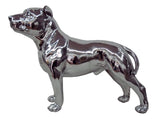 Silver Small Staffordshire Bull Terrier Ornament