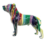 Paint Splatter Small Staffordshire Bull Terrier Ornament