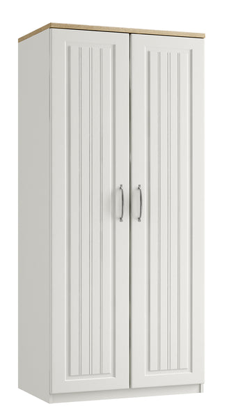 Portofino Double Tall Wardrobe