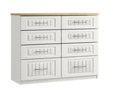 Portofino Tall 6 Drawer Chest of Drawers