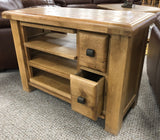 Weathered Oak Small TV Unit