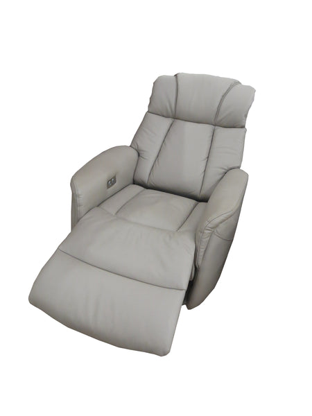 Sorento Leather Rocker Swivel Electric Recliner Chair