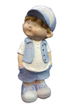 City Kidz Boy in Blue Standing Ornament