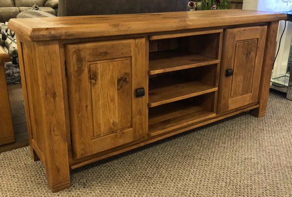 Weathered Oak Medium TV Unit