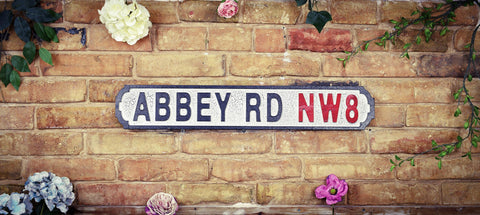 Abbey Road NW8 Vintage Road Sign