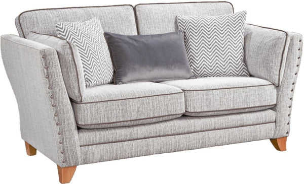 Anthea Fabric 2 Seater Formal Back Sofa