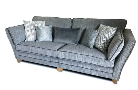 Anthea Fabric 4 Seater Formal Back Corner Sofa