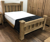 Weathered Oak King Size Bed