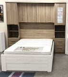 Phoenix Sonoma Oak Over Bed Storage Unit