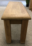 Weathered Oak Dining Bench