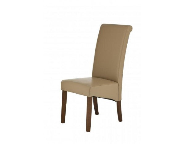 Carnaby Mocha Bonded Leather Dining Chair