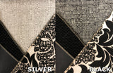 Black & White Floral Fabric Collection