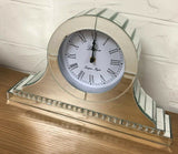 Napoleon Crystal Strip Mantle Clock