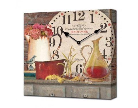Chateau Bellecour Pinot Noir Wall Clock