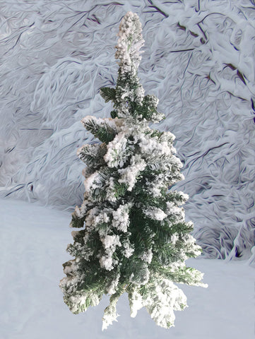 3ft Snow Effect Christmas Tree