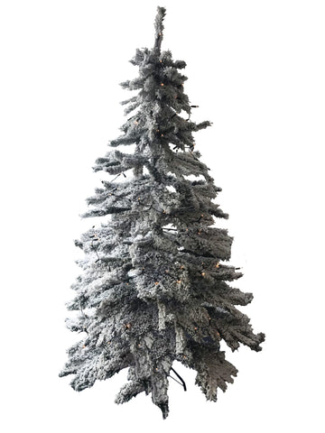 7ft Snow Effect Christmas Tree