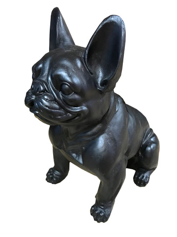 Black French Bulldog Ornament