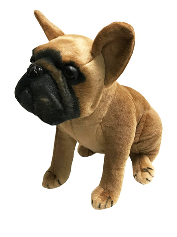 Sitting French Bulldog Soft Toy