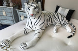 Siberian White Snow Tiger Plush Cuddly Soft Toy (Large)