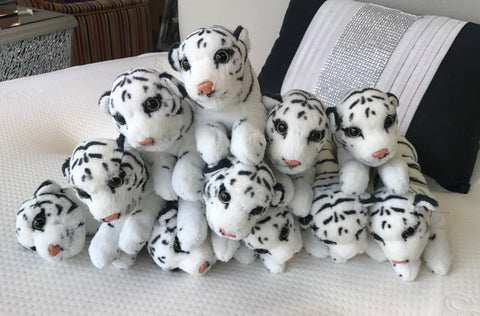 Siberian White Snow Tiger Soft Toy (Small)