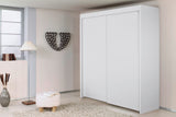Glidestore Wardrobe in Alpine White