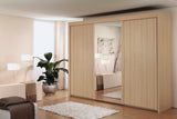Glidestore Wardrobe in Natural Beech
