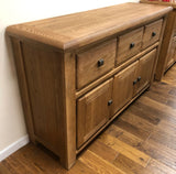 Weathered Oak Medium Buffet