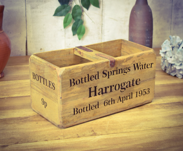 Medium Harrogate Spring Water Solid Wood Box
