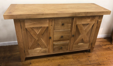 Maxi Oak Medium Buffet Sideboard
