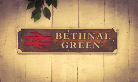 Bethnal Green Railway Sign