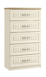 Portofino 5 Drawer Midi Chest of Drawers