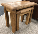 Weathered Oak Nest of Tables
