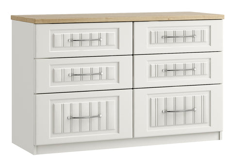Portofino Short 6 Drawer Chest of Drawers