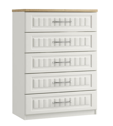 Portofino 5 Drawer Chest of Drawers