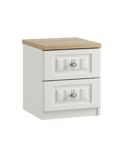 Portofino 2 Drawer Bedside Chest of Drawers