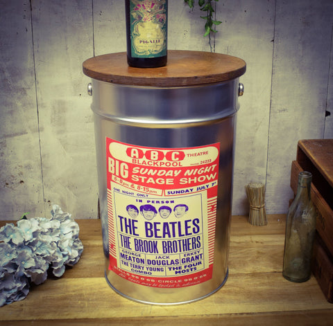 Beatles Storage Stool