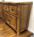 Weathered Oak Small Buffet
