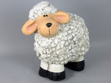 Large Standing Smiling Sheep Ornament