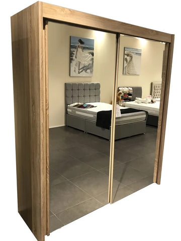 Slidestore Mirrored Sliding Door Wardrobe