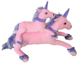 Purple & Pink Unicorn Soft Toy (Small)