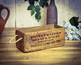 Covent Garden Herbs & Spices Solid Wood Box