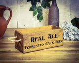 Real Ale Solid Wood Vintage Box