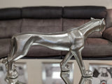 Pewter Styled Standing Panther Ornament