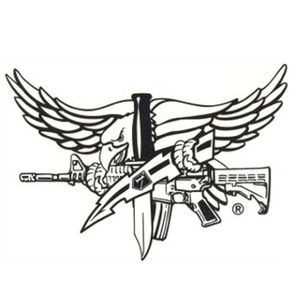 SWAT Eagle Operator Sticker