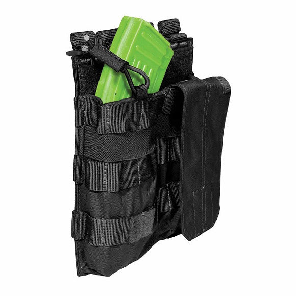 5.11 Tactical Double AK Magazine Pouch with Bungee and Cover