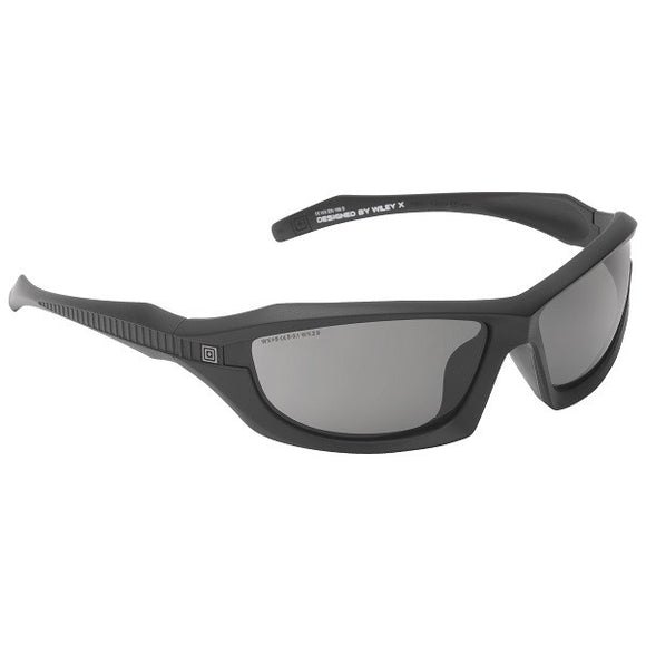 5.11 Tactical Burner Full Frame Non-Polarized Lens-Matte Black