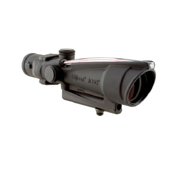 TA11D: Trijicon ACOG 3.5x35 Scope, Dual Illuminated Red Triangle BAC Reticle