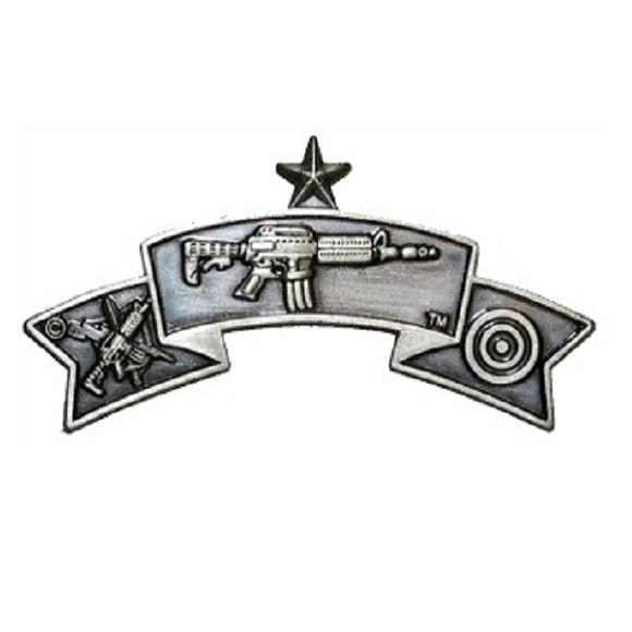 Senior Patrol Rifle Pin