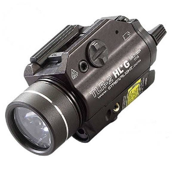 Streamlight TLR-2HL G Weapon Mounted Light with Green Laser