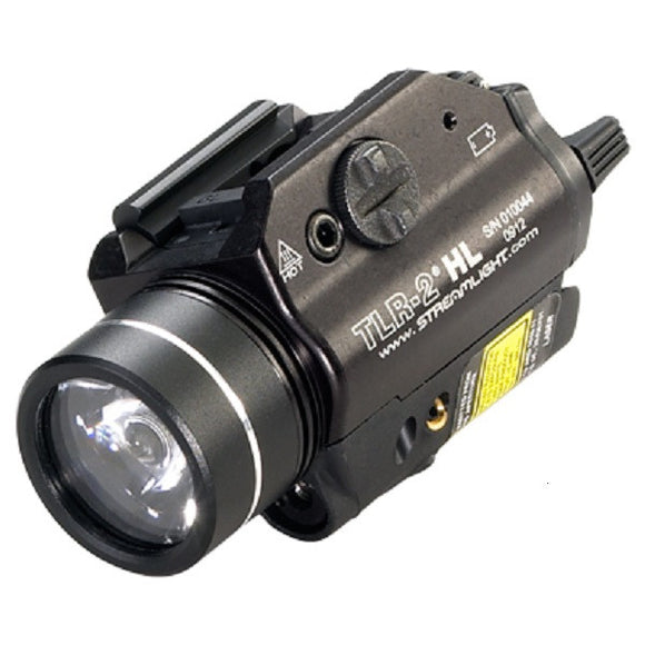 Streamlight TLR-2HL Weapon Mounted Light with Laser